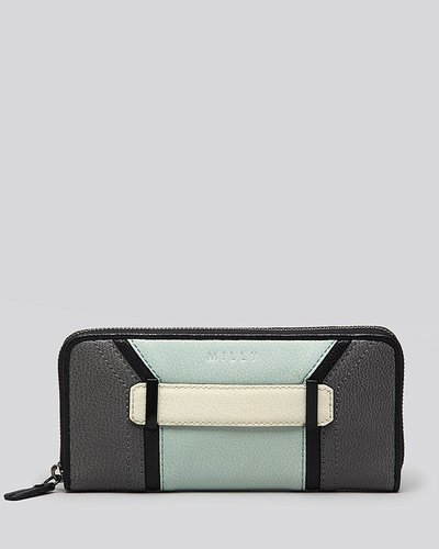 Milly Wallet - Kelly Colorblock Zip Around