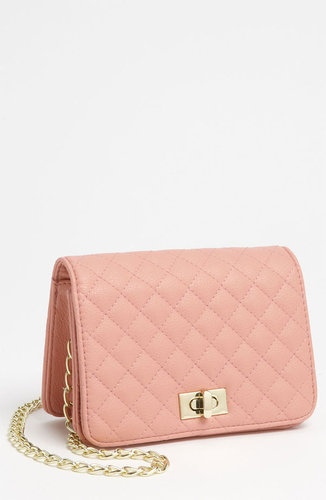 Lulu Quilted Crossbody Bag