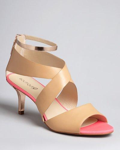 Boutique 9 Ankle Strap Sandals - Merista Mid Heel