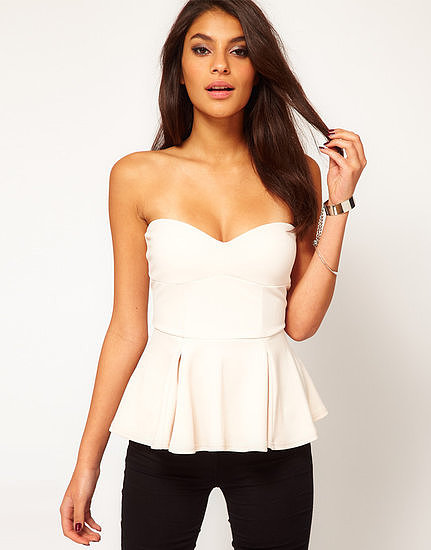 You could easily wear this ASOS Extreme Peplum Top ($42) to a Summer wedding — just add a printed pencil skirt and metallic heels.