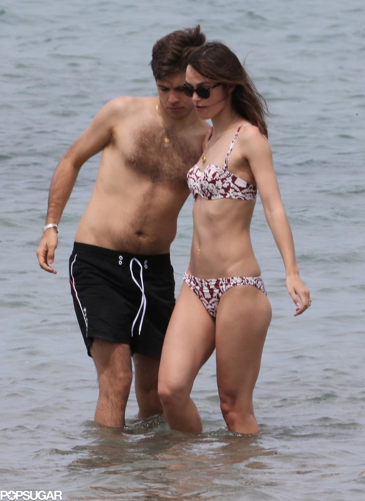 Keira Knightley Breaks Out Her Bikini, Shows PDA on Honeymoon