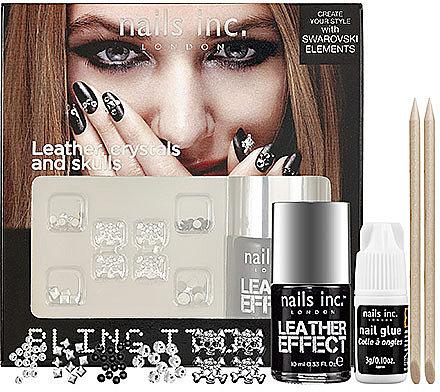 nails inc. Bling It On Kit - Rebel