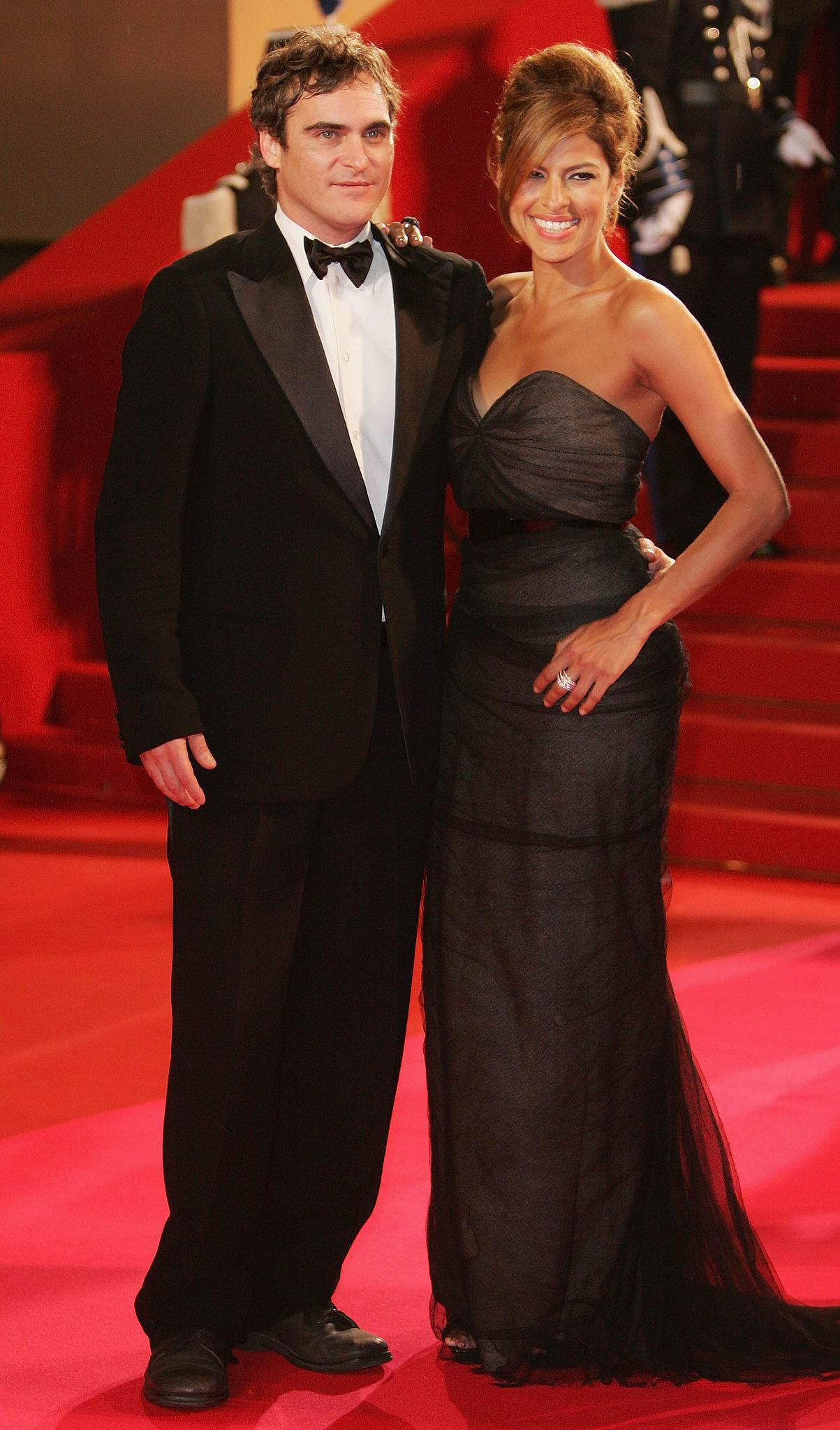 Eva Mendes and Joaquin Phoenix got