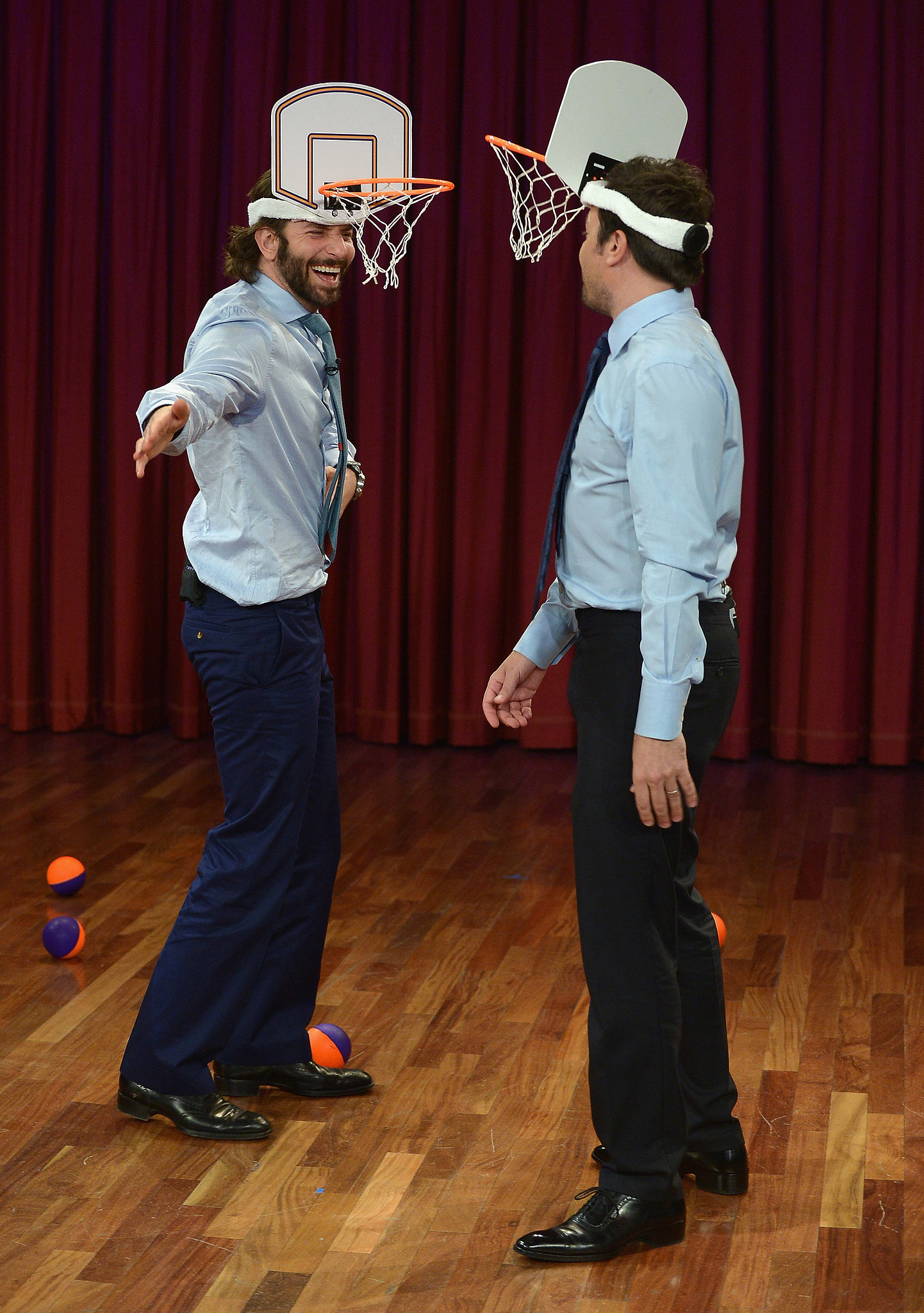 Bradley Cooper Faces Off With Jimmy Fallon