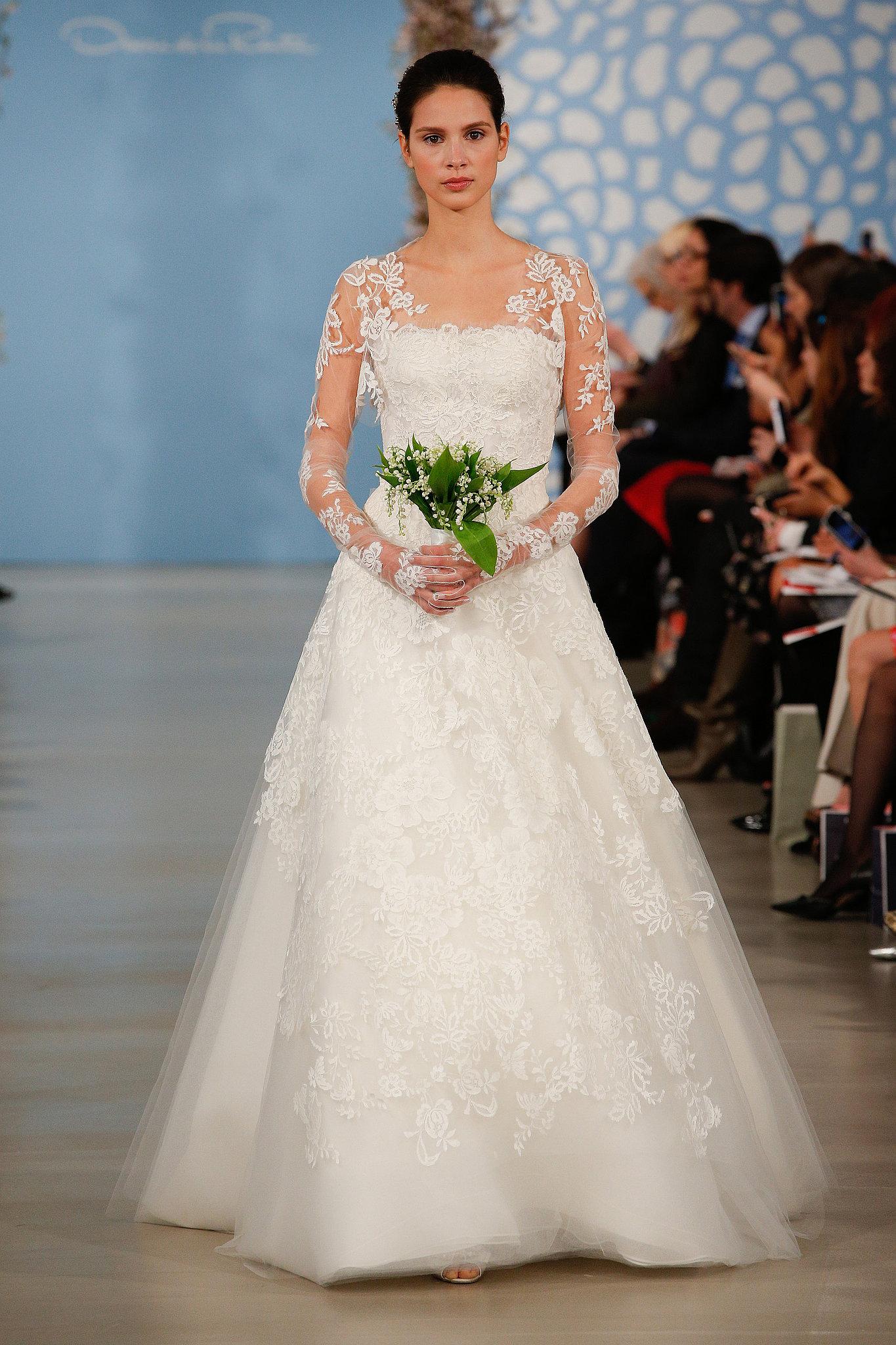 Dress spring 2014 collection poa oscar de la renta for Oscar de la renta lace wedding dress