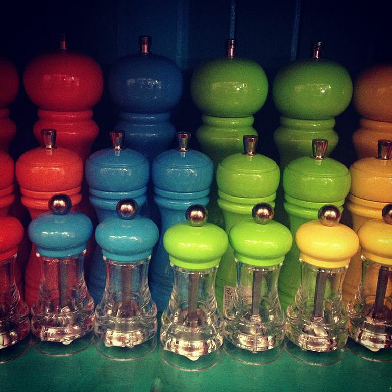 Sugar, spice, and everything nice with these Maison Midi salt and pepper mills ($39).