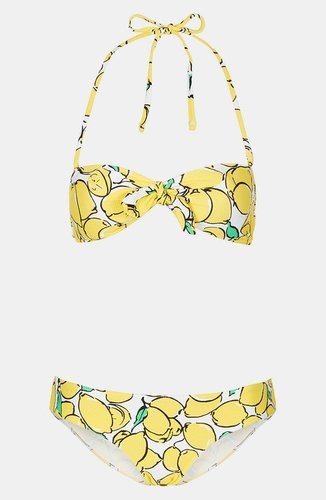 Topshop 'Sicilian Lemon' Bikini