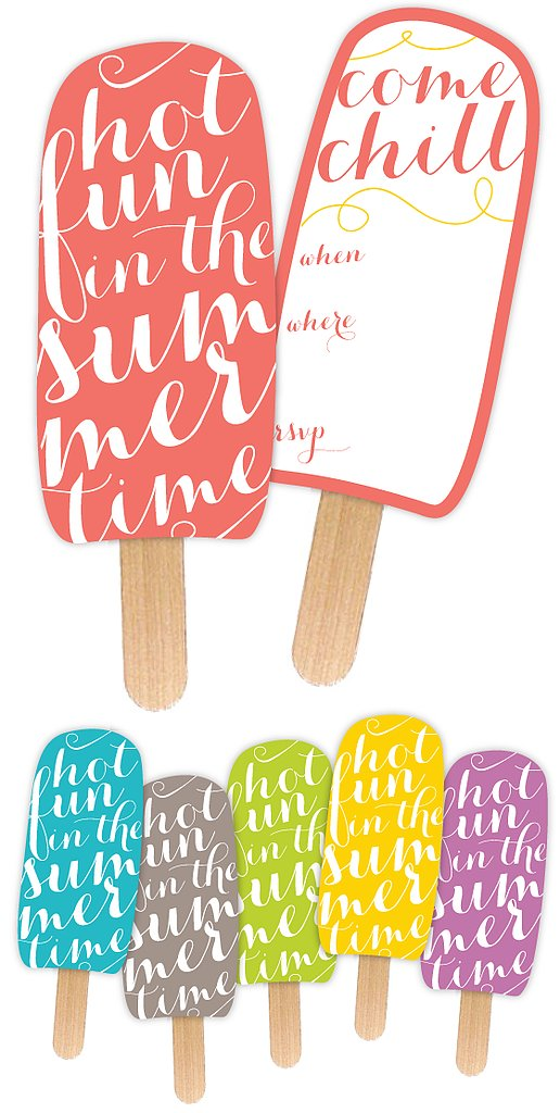 Summer Party Printable