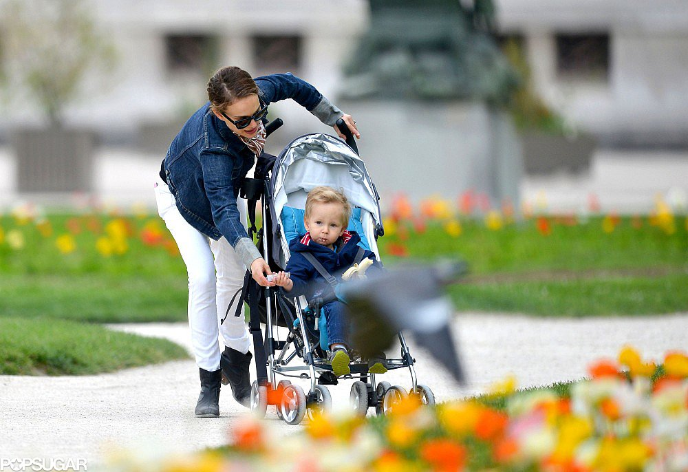 Natalie Treats Aleph to the Perfect Park Day in Paris