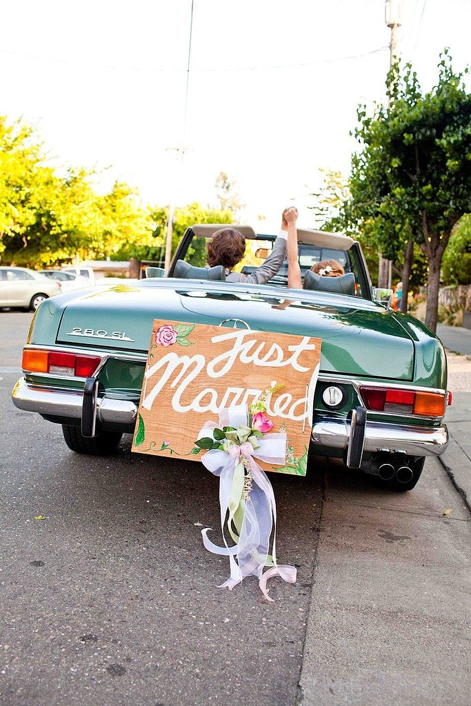 "The ""Just Married"" Ride"