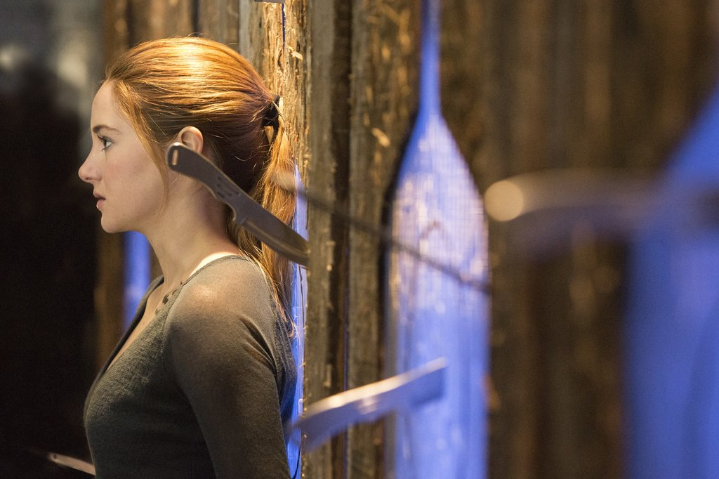 Shailene Woodley as Tris in Divergent.