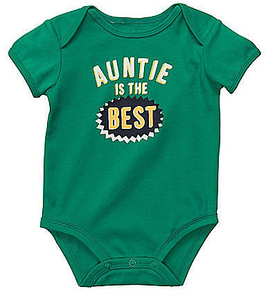 "Carter ́s Infant ""Auntie Is The Best"" Bodysuit"
