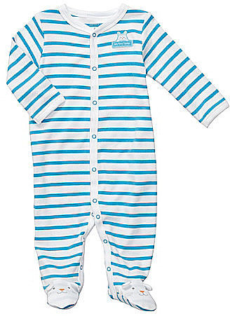 Carter ́s Newborn Striped Footed Pajamas