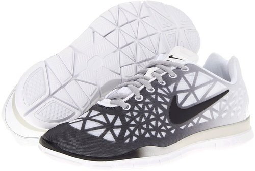 Nike - Free TR Fit 3 Dye (White/Strata Grey/Black/Black) - Footwear