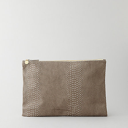 CLARE VIVIER laptop sleeve / oversized clutch