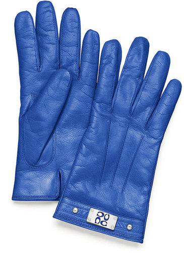 Coach Signature Plaque Glove