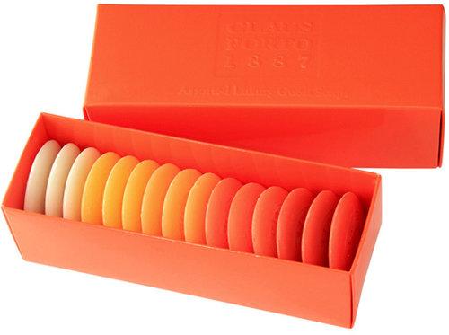 Claus Porto Orange Guest Soap Boxed Set