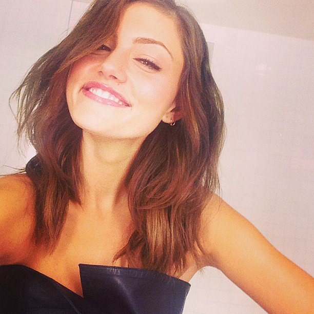 Phoebe Tonkin flashed a beautiful smile ahead of an event. Source: Instagram user phoebejtonkin