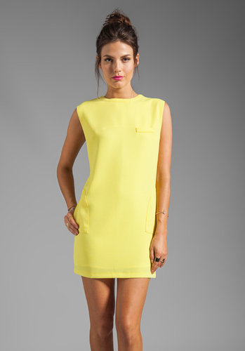 Line & Dot Shift Dress