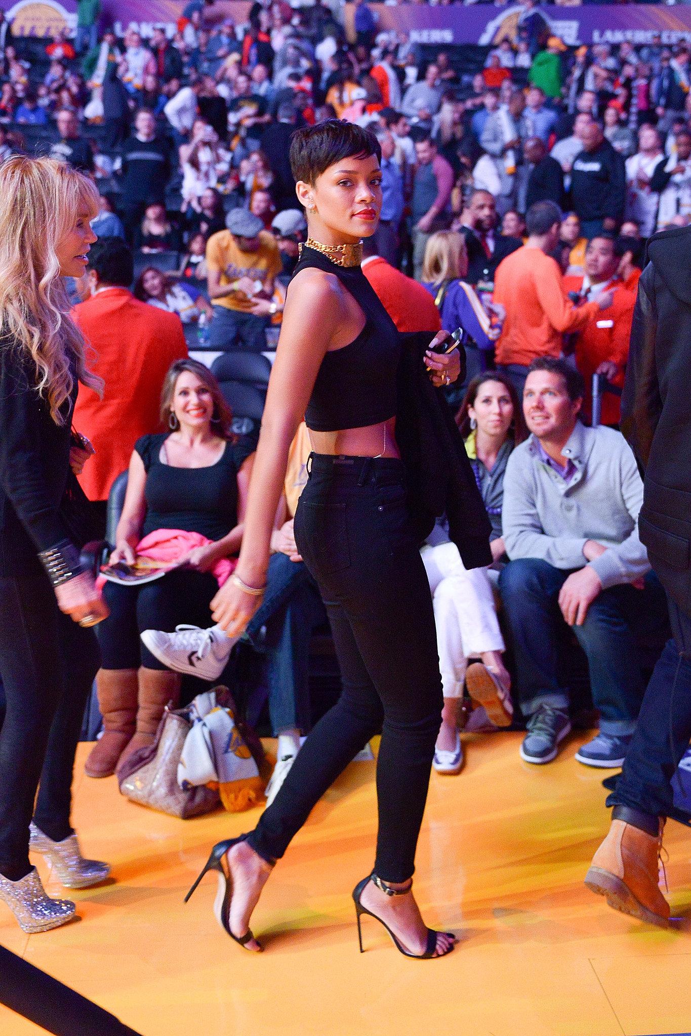 Rihanna went full