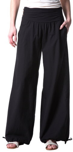 Puff-shape trousers