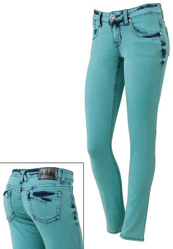 Hydraulic indie color skinny jeans - juniors