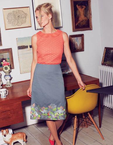 Mosaic Flower Skirt