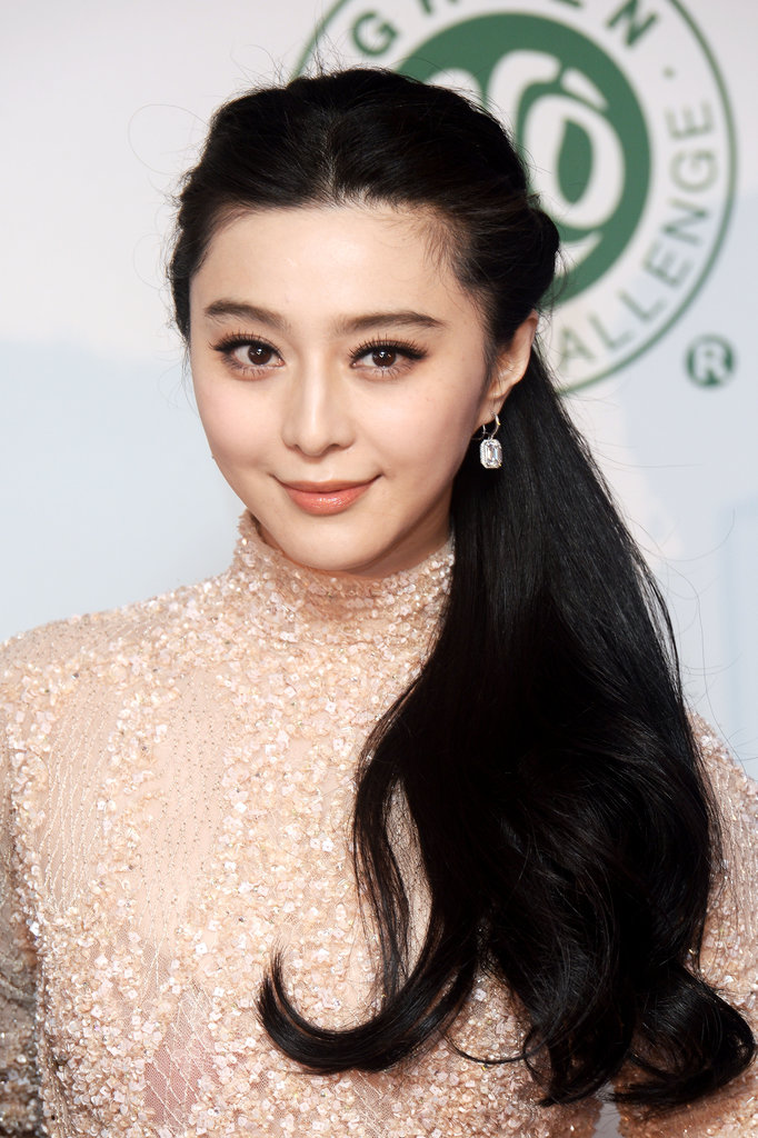 Fan BingBing's creamy porcelain skin is the stuff of dreams.