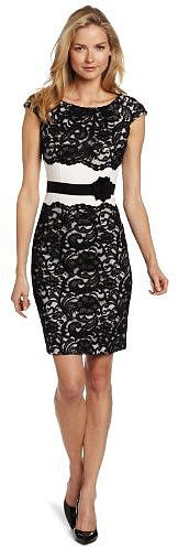 Jax Women's Allover Lace Dress