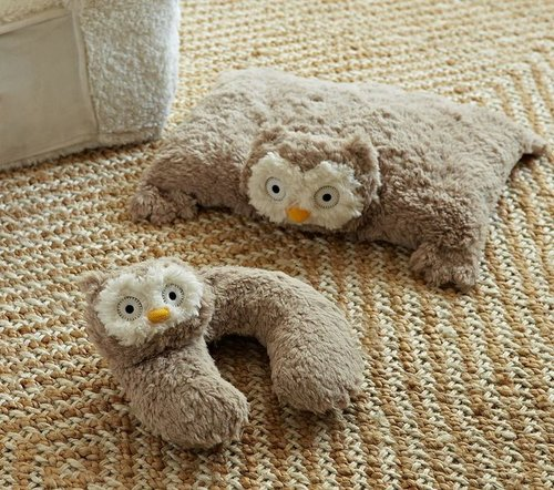 Owl Plush Neck Pillow