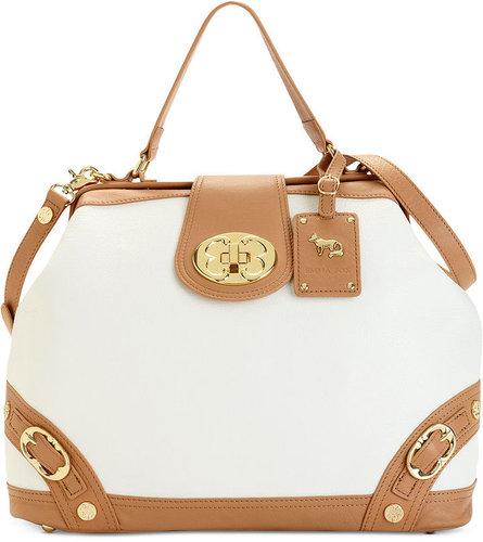 Emma Fox Handbags, Classics Frame Satchel