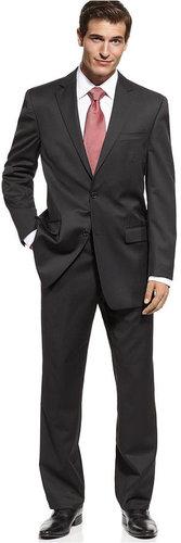 Michael by Michael Kors Suit, Black Solid