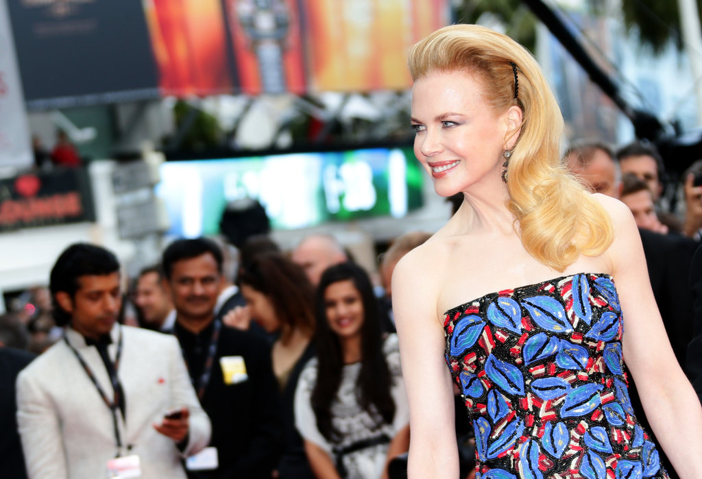 Nicole Kidman took her hair high, for the premiere of Inside Llewyn Davis.