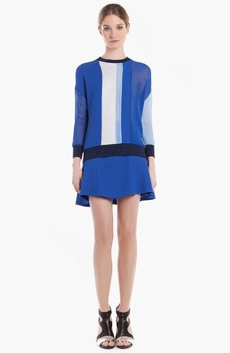 sandro 'Entourage' Colorblock Top