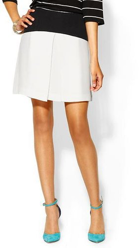 Tibi Yoked Pleat Skirt