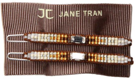 Jane Tran - Aztec Barrette (Brown Mix (E)) - Accessories