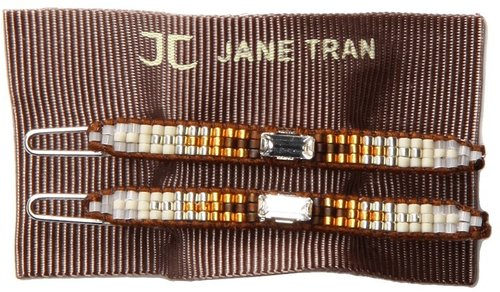 Jane Tran - Aztec Barrette (Brown Mix (E)) - Accessories