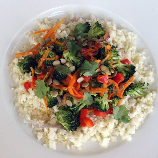 Paleo Stri Fry With Rice Substitute