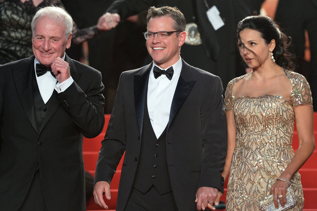 Matt Damon Captures His Cannes Premiere With Luciana