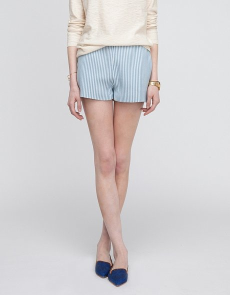 For a subdued and more dressy take on stripes, get these Need Supply striped shorts ($37, originally $48).