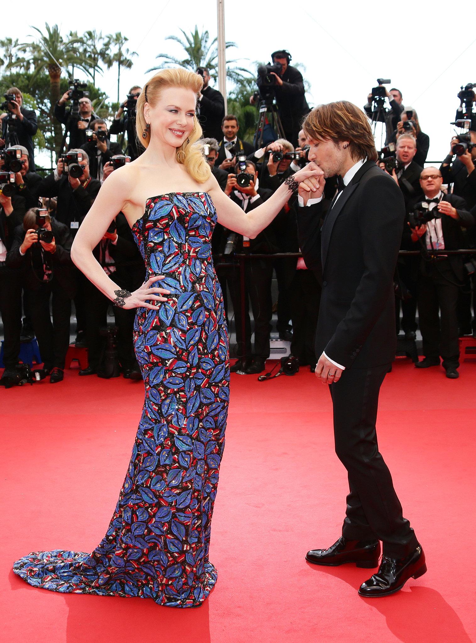 Nicole Kidman and Keith Urban in 2013