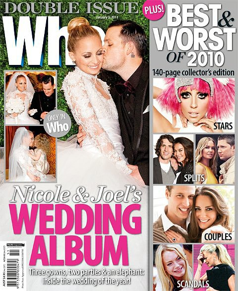 Nicole Richie and Joel Madden: December, 2010