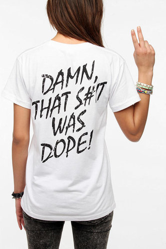 NWA Damn That Was Dope Tee