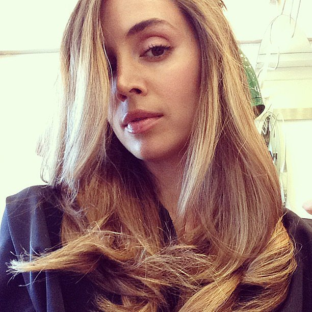Eliza Dushku shared a snap of her new blond 'do. Source: Instagram user elizadushku