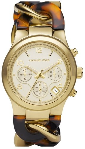 Michael Kors Chain Bracelet Chronograph Watch, 38mm