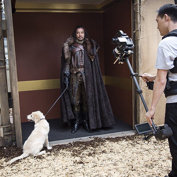 Jimmy Fallon filmed a Game of Thrones spoof for his late-night show. Source: Instagram user jimmyfallon