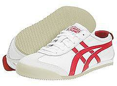 Onitsuka Tiger by Asics - Mexico 66 (White/Red) - Footwear