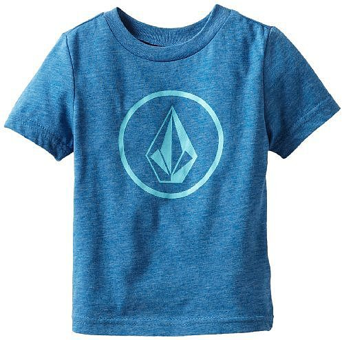 Volcom Boys 2-7 Round Stone Surf Tee Little Youth
