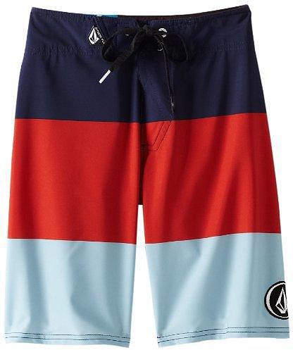Volcom Boys 8-20 V4S Stripe Short