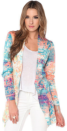 One Teaspoon The Young Blood Blazer in Speckle